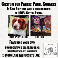 Custom Fabric Panel Squares for your crafting needs. Your Images.