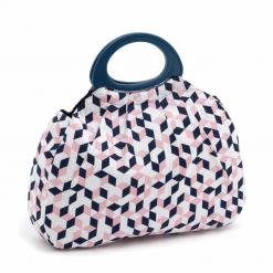 Hobby Gift 'Geo' Gathered Knitting Bag