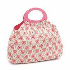 Hobbygift Classic Gathered Knit Bag Pink Blossom
