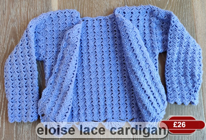 Eloise Lace Cardigan by SerendipityGDDs, for girls aged 6 or 7