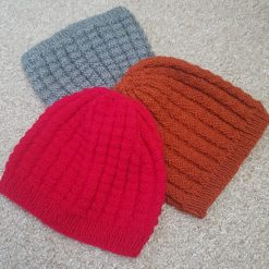 Hand Knitted Teen/Adult Beanie Hat