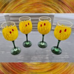 Ladybird Wine Glasses -  4 set