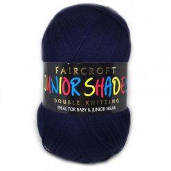 Faircroft Junior Shades DK - 500g Ball - Navy (640)