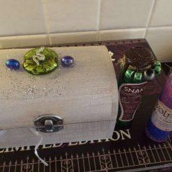 Potion Bottle & Casket Harry Potter Inspired Snake Venom & Wolfsbane