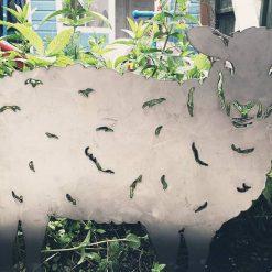 Steel Sheep Ornament Large
