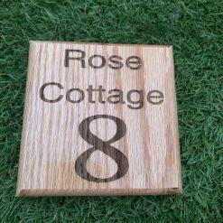 Oak Door Signs