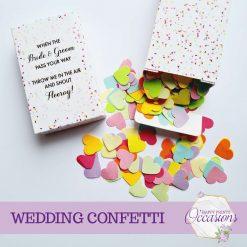 Wedding Confetti - Different Colour Choices