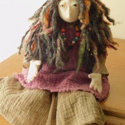 Iseezal the Seer: OOAK Faerie Doll