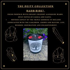 Badb from the deity collection - Soy wax candle