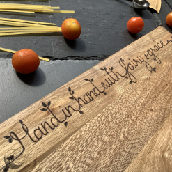 Fairy Blessing Chopping Boards, Serving Board, Wood Chopping Board, Gift, Free UK Postage