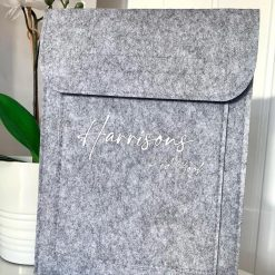 Personalised Red Book Holder