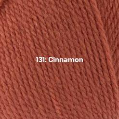 500g (5 x 100g) Genuine Robin DK Doubleknit wool yarn. Colour: Cinnamon. Free postage