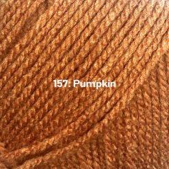 500g (5 x 100g) Genuine Robin DK Doubleknit wool yarn. Colour: Pumpkin. Free postage