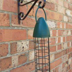 """2x - Black 7 1/2"""" (19cm) Hanging Basket / Lantern / Bird Feeder / Wind Chime Brackets."""