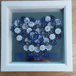 Rose Heart Box Frame
