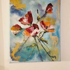 Poppy flowers - Oil Painting