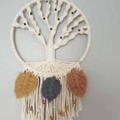 Gemstone macrame Tree of Life