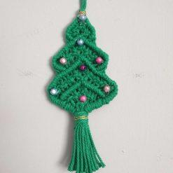 Christmas Tree in macrame.