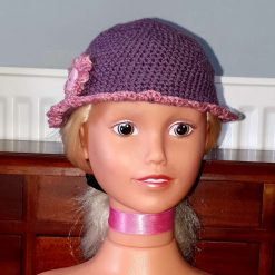 Little girls crochet hat
