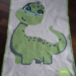 Baby Dino Blanket