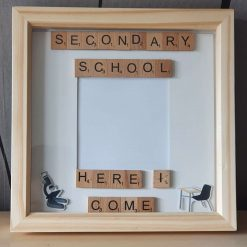 First Day At Secondary School Frame