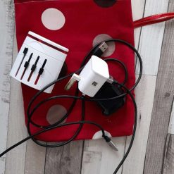 A really useful bag for your gadget charge leads