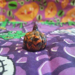 Clay pumpkin - small