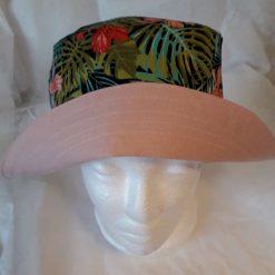 Bright Garden and Peach Reversible Sun Hat