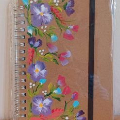 Hand Painted Gift A5 Notebooks Flowers