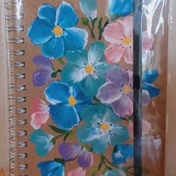 Gift Hand Painted A5 Notebooks Flowers