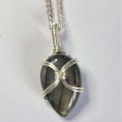 Howlite Copper Necklace