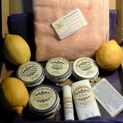 The Vicarage Kitchen Luxury Organic Citrus Zing Skincare Gift Selection - Letterbox Size - ££Saver