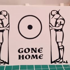 Gone Home Sympathy Card