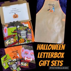 Halloween Gift Set with Personalised Embroidered Apron