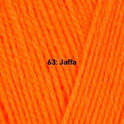 500g (5 x 100g) Genuine Robin DK Doubleknit wool yarn. Colour: Jaffa. Free postage