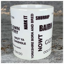 Yorkshire Dialect Mug - Sayings, Mug, Cup, Regional, Phrases, Housewarming, Tea, Coffee, Yorkshire Sayings, Accent, Twang, Moving, Student