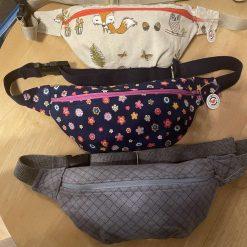 Handmade festival bags