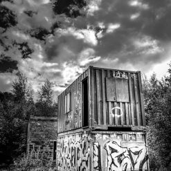 12x16 print entitled Abandoned to the elements
