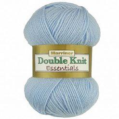 500g (5 x 100g) Genuine Marriner Doubleknit wool yarn. Colour: Blue. Free postage