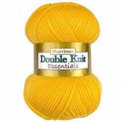 500g (5 x 100g) Genuine Marriner Doubleknit wool yarn. Colour: Sunflower. Free postage
