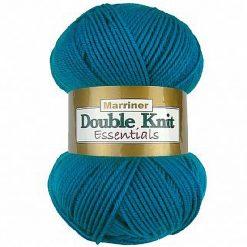 500g (5 x 100g) Genuine Marriner Doubleknit wool yarn. Colour: Dark Cyan. Free postage