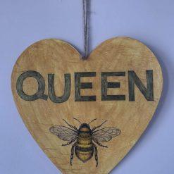 Queen Bee - heart