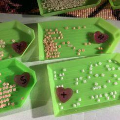 Handmade Resin Diamond Painting Symbol Counters