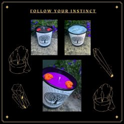 Follow your instinct - Create your own candle