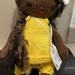 Baby Luna hand knit