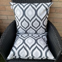 Outdoor cushion covers water repellant