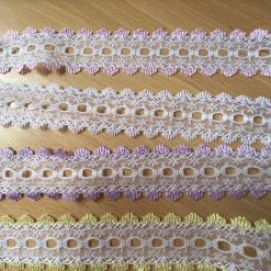 Eyelet 35mm Knitted lace