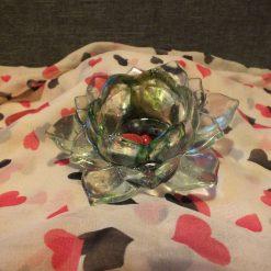 Resin Lotus Candle Holder
