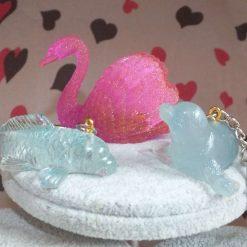 Resin Animal Keyring / Ornament