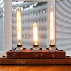 UNIQUE INDUSTRIALSTRAMPUNK STYLE TABLE LAMP